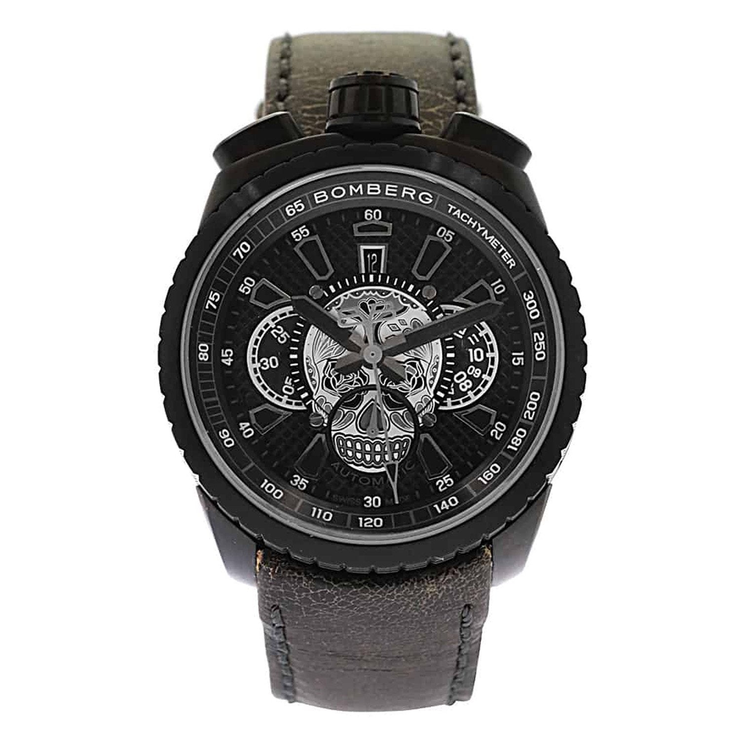 Bomberg BOLT-68 Automatic Chronograph Skull Limited Edition - Watches & Crystals