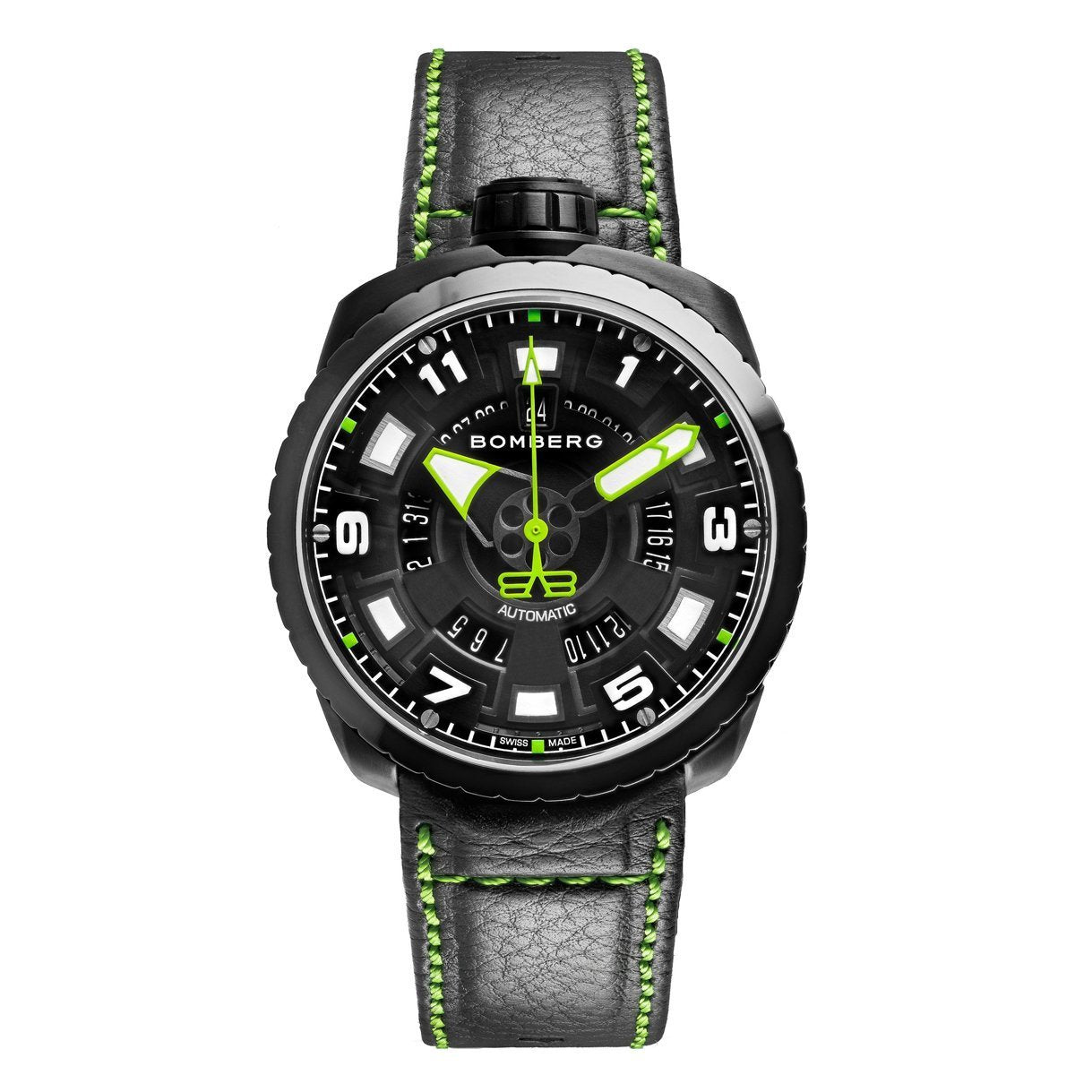 Bomberg BOLT-68 Black Green