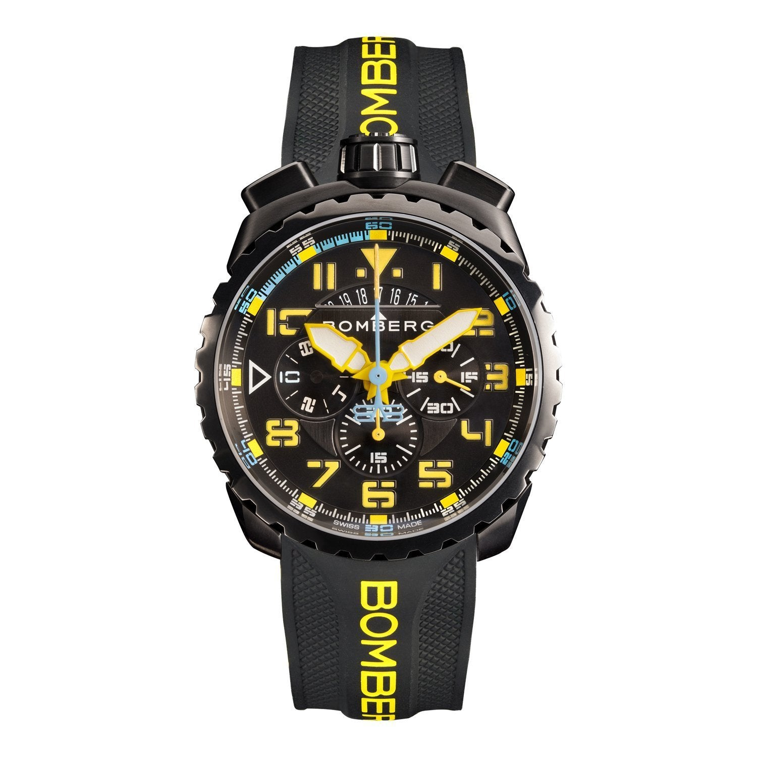 Bomberg BOLT-68 Chronograph Black PVD