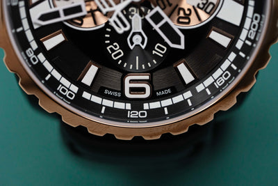 Bomberg BOLT-68 Chronograph Gold & Black PVD - Watches & Crystals