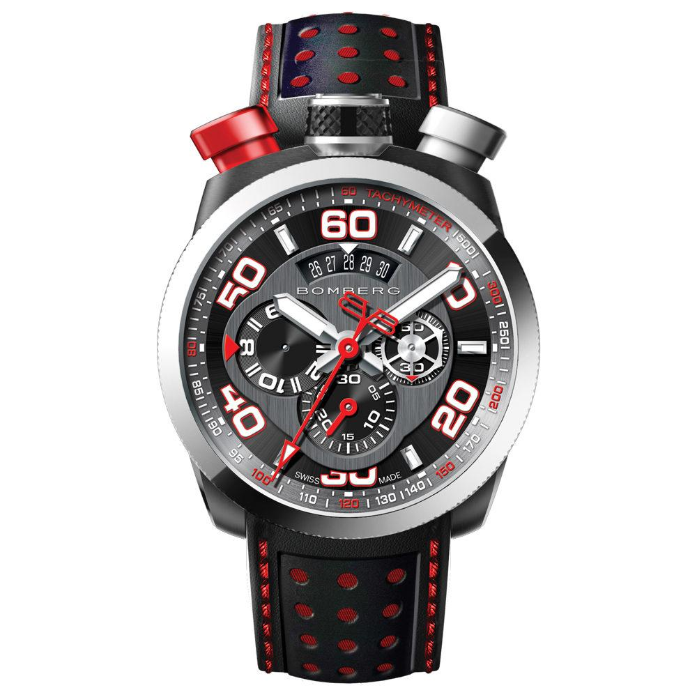 Bomberg BOLT-68 Chronograph Silver - Watches & Crystals