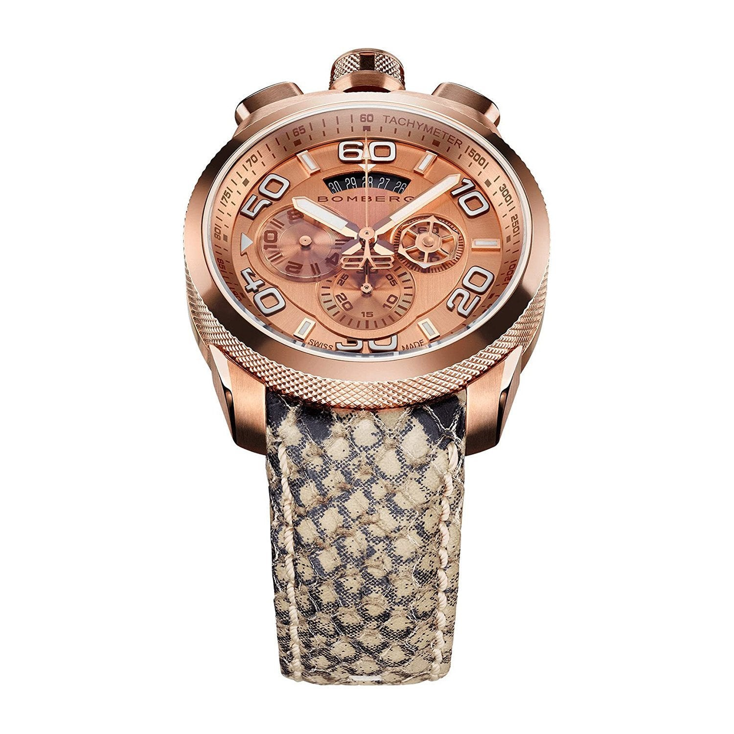Bomberg BOLT-68 Chronograph Snakeskin - Watches & Crystals