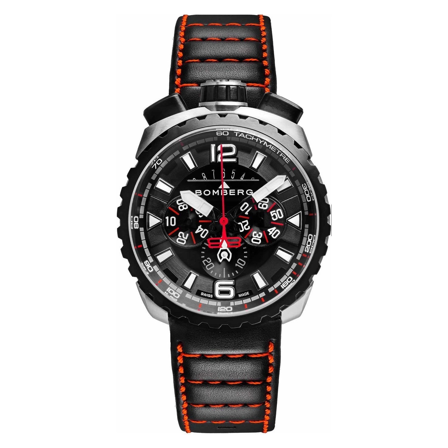 Bomberg BOLT-68 Chronograph Steel and Black PVD