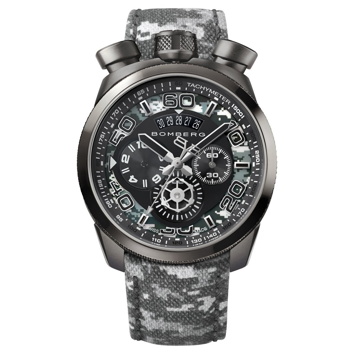 Bomberg BOLT-68 Chronograph Winter Camo
