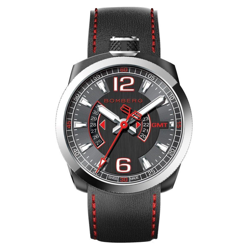Bomberg BOLT-68 GMT Red - Watches & Crystals