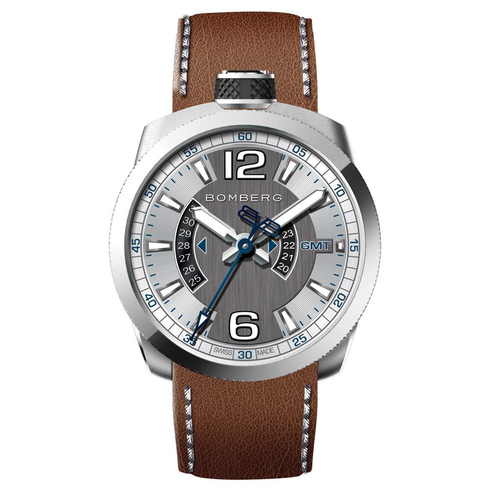 Bomberg BOLT-68 GMT Steel - Watches & Crystals