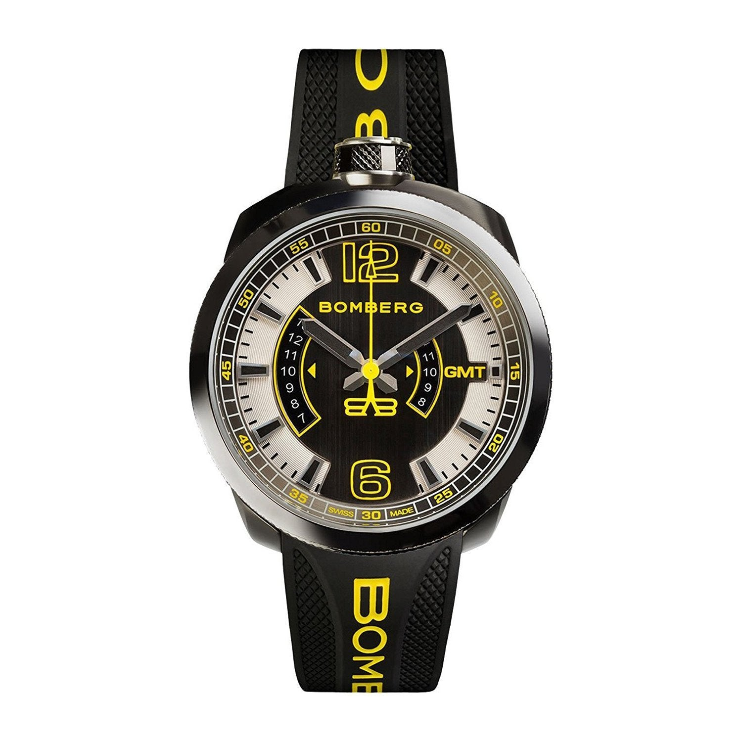 Bomberg BOLT-68 GMT Yellow - Watches & Crystals