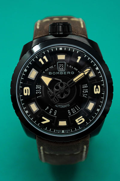 Bomberg BOLT-68 Watch Black PVD LIMITED EDTION - Watches & Crystals