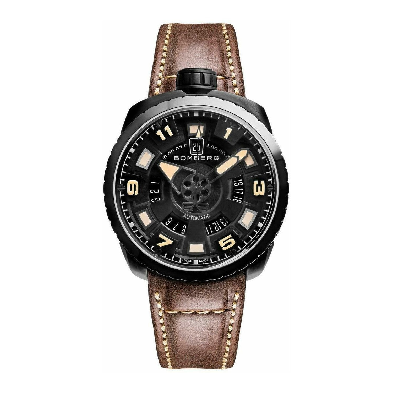Bomberg BOLT-68 Watch Black PVD LIMITED EDTION