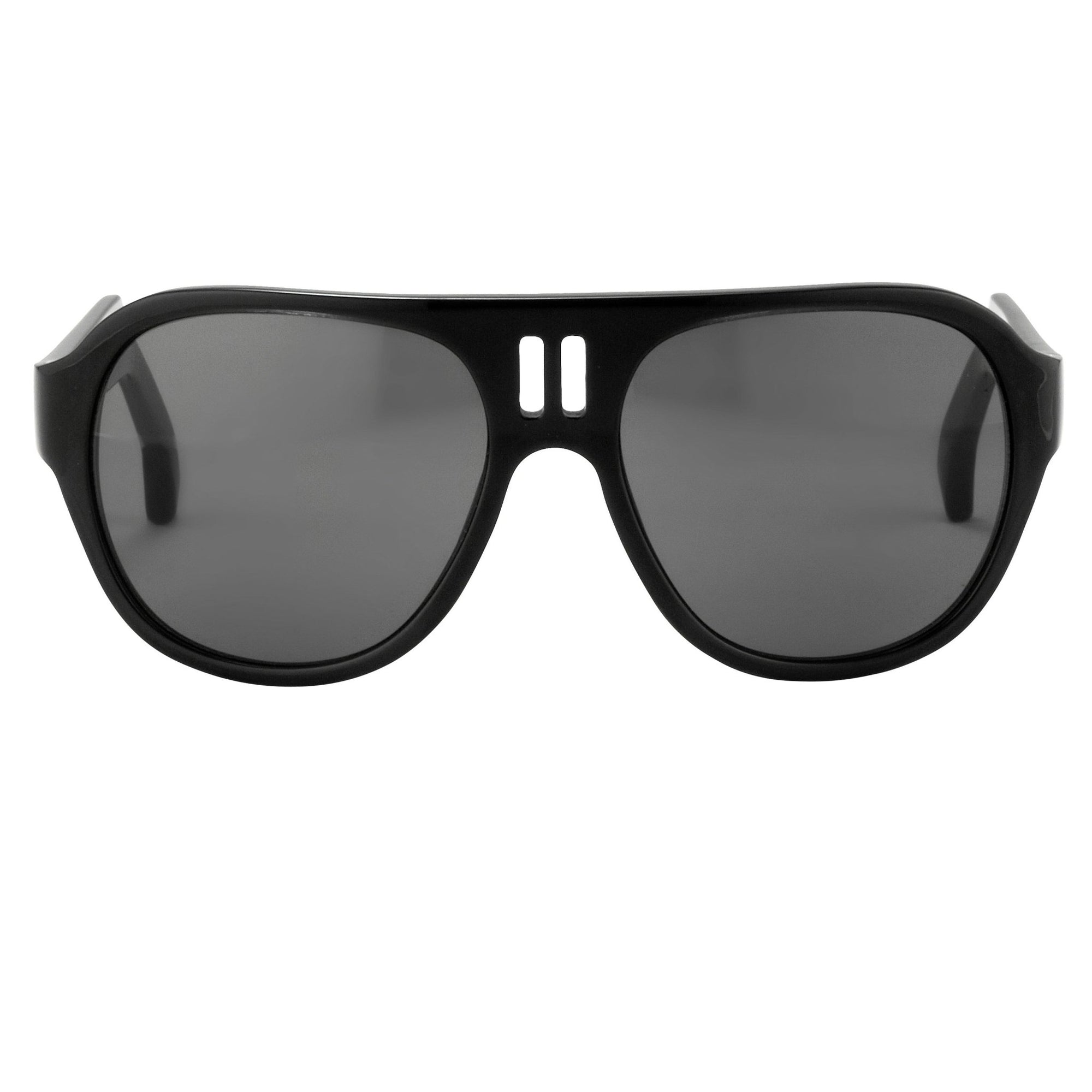 Boris Bidjan Saberi Sunglasses Black With Grey Category 3 Lenses BBS4C2SUN - Watches & Crystals