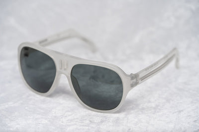 Boris Bidjan Saberi Sunglasses Misty White With Grey Category 3 Lenses BBS4C1SUN - Watches & Crystals