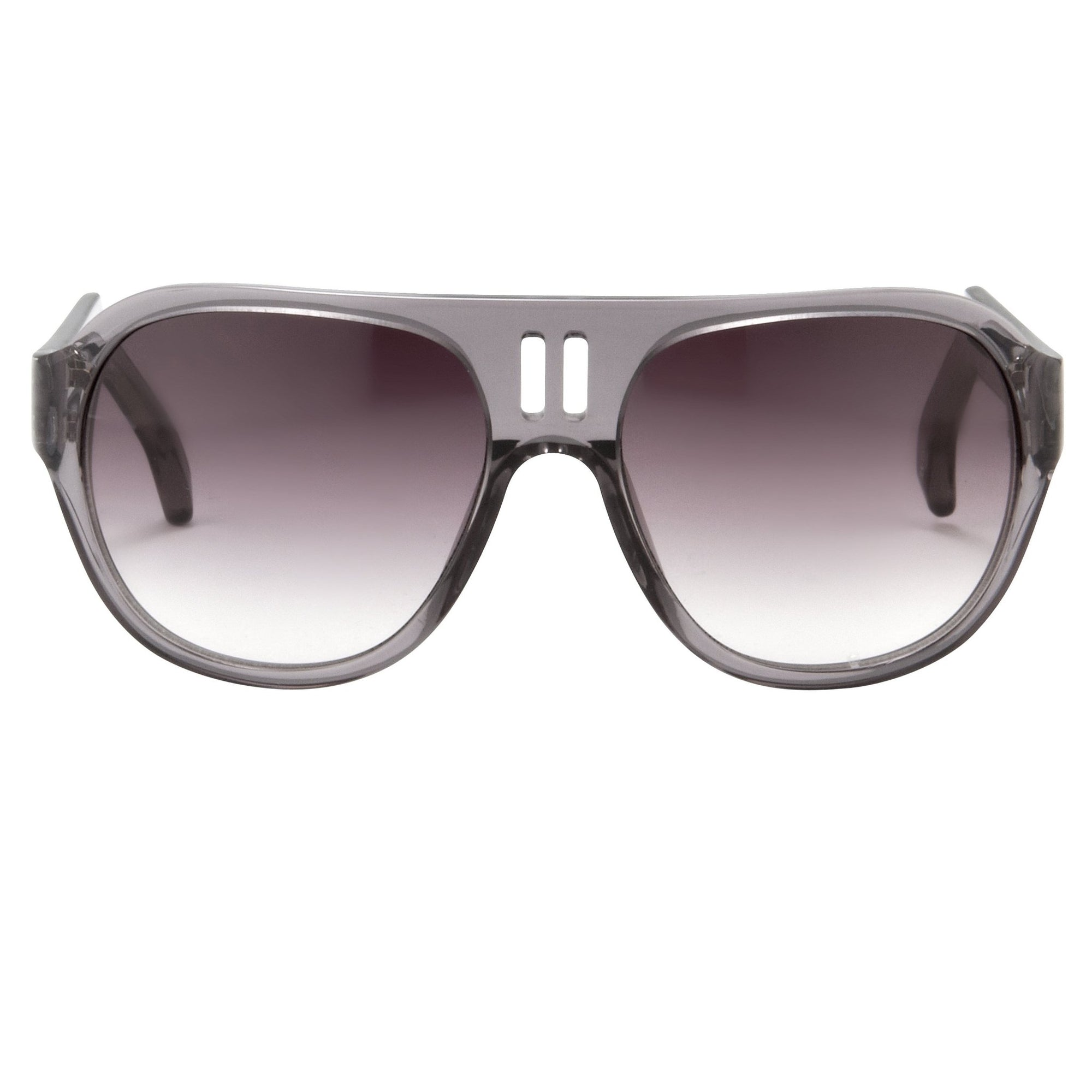 Boris Bidjan Saberi Sunglasses Translucent Slate With Purple Graduated Category 3 Lenses BBS4C4SUN - Watches & Crystals