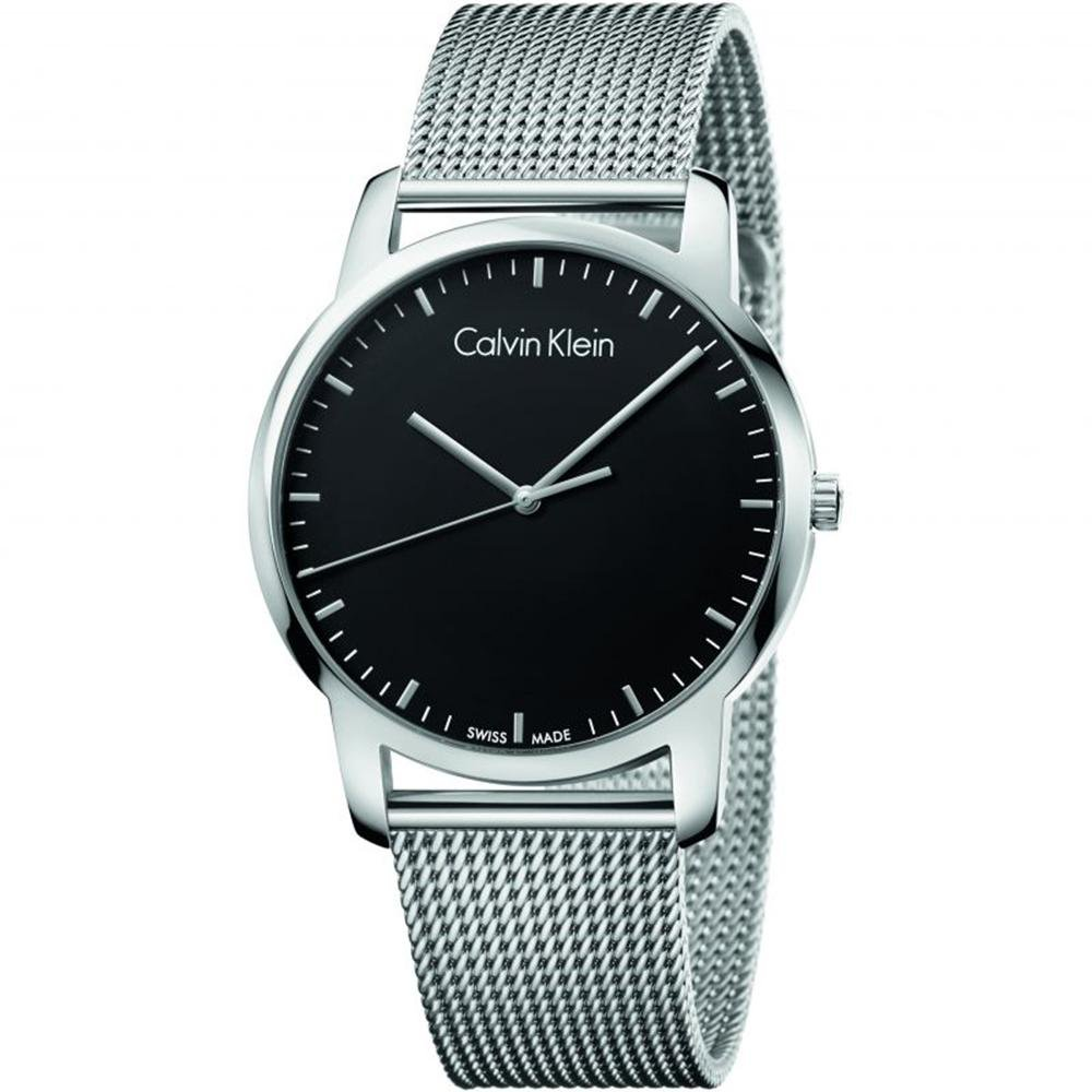 Calvin Klein City Black Stainless Steel - Watches & Crystals