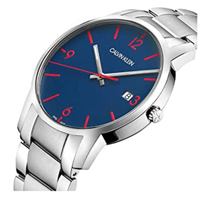 Calvin Klein City Blue Dial Stainless Steel - Watches & Crystals