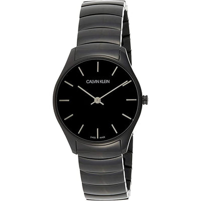 Calvin Klein Classic 32MM Black Stainless Steel - Watches & Crystals