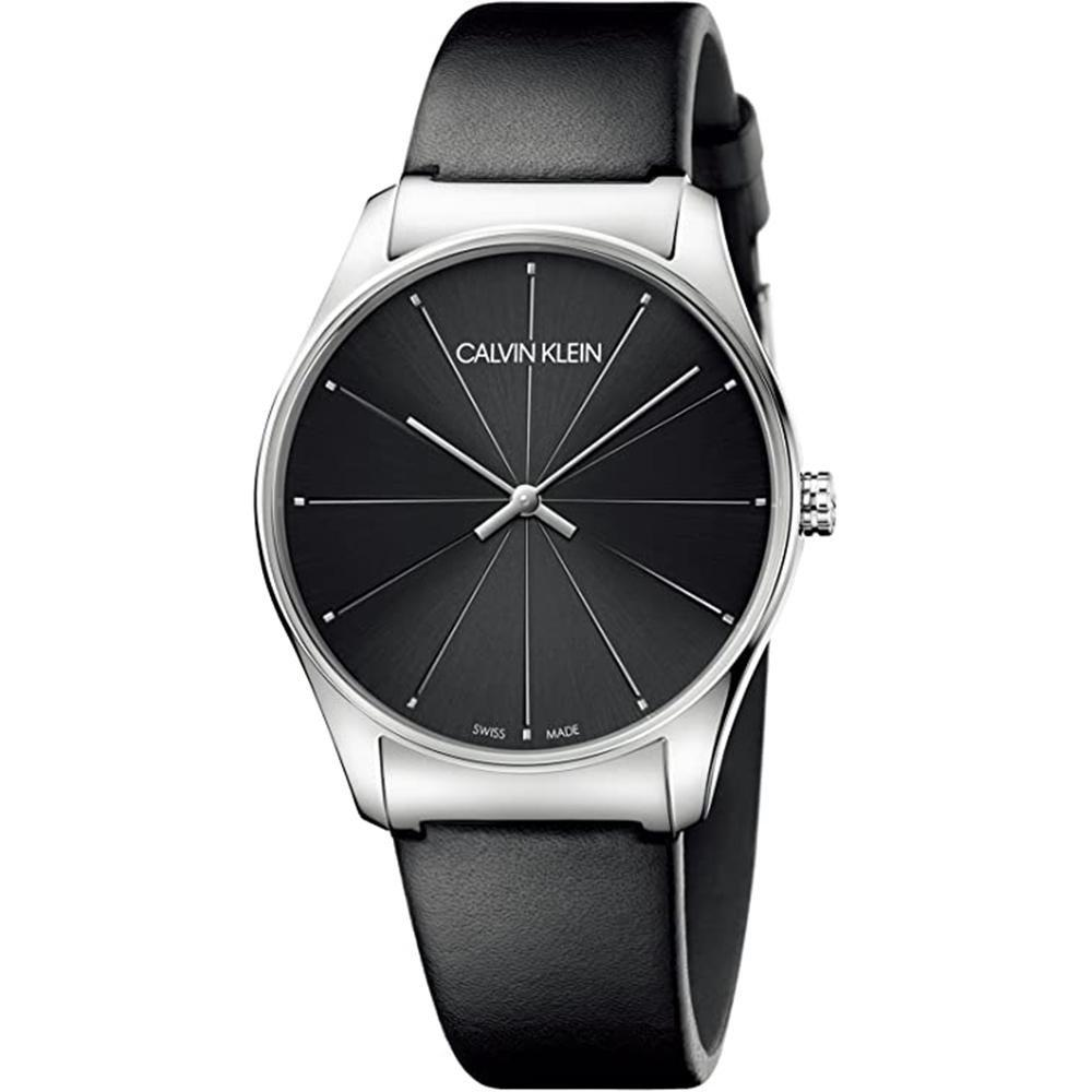 Calvin Klein Classic 38MM Black Leather