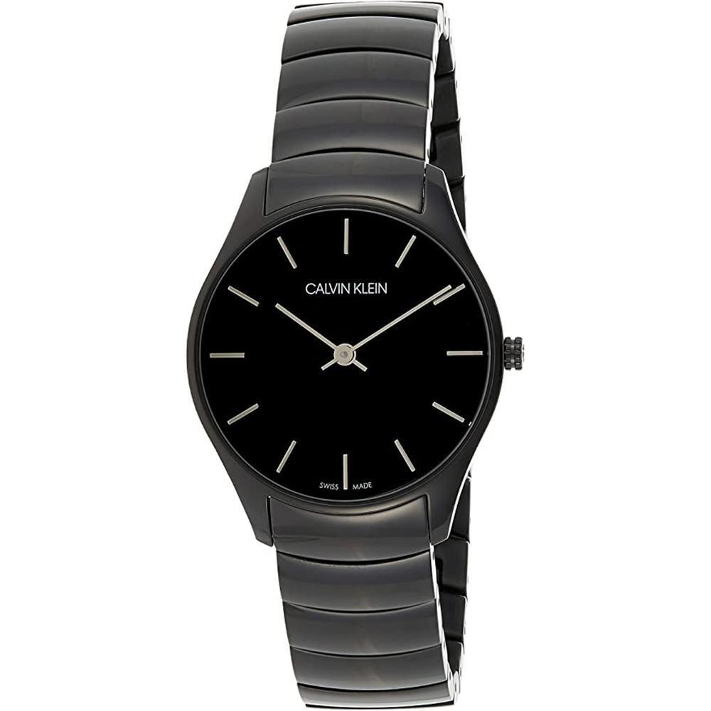 Calvin Klein Classic 38MM Black Stainless Steel - Watches & Crystals