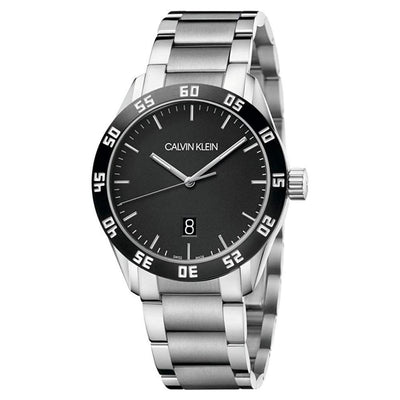 Calvin Klein Complete Black Stainless Steel - Watches & Crystals