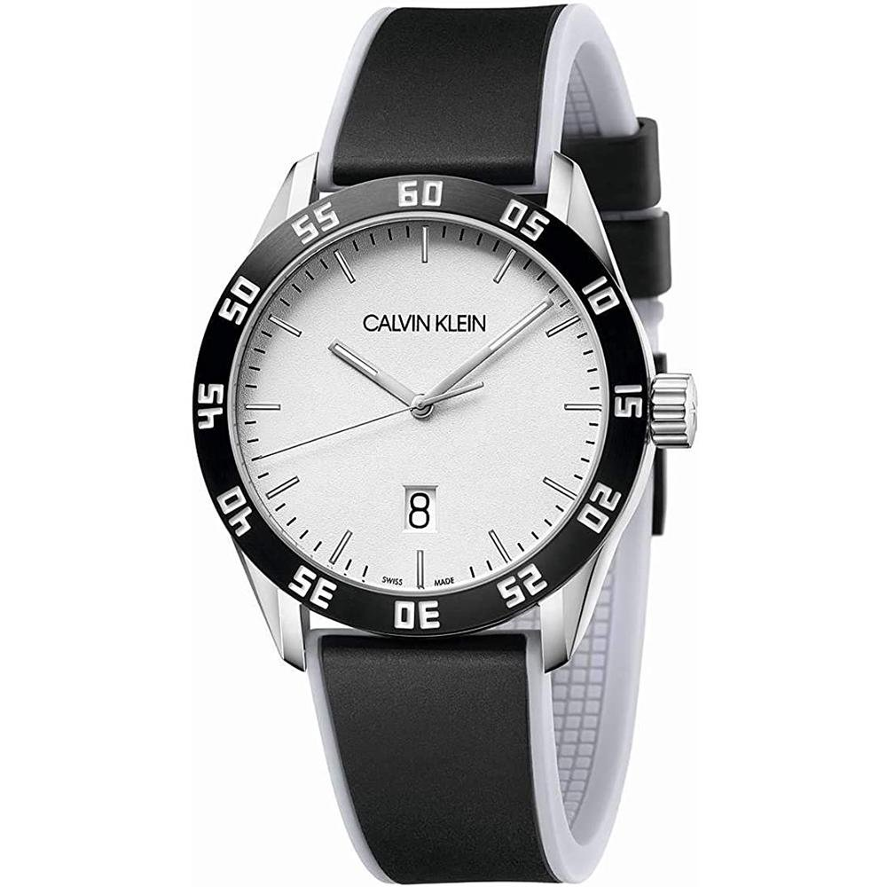 Calvin Klein Complete Silver Silicone - Watches & Crystals