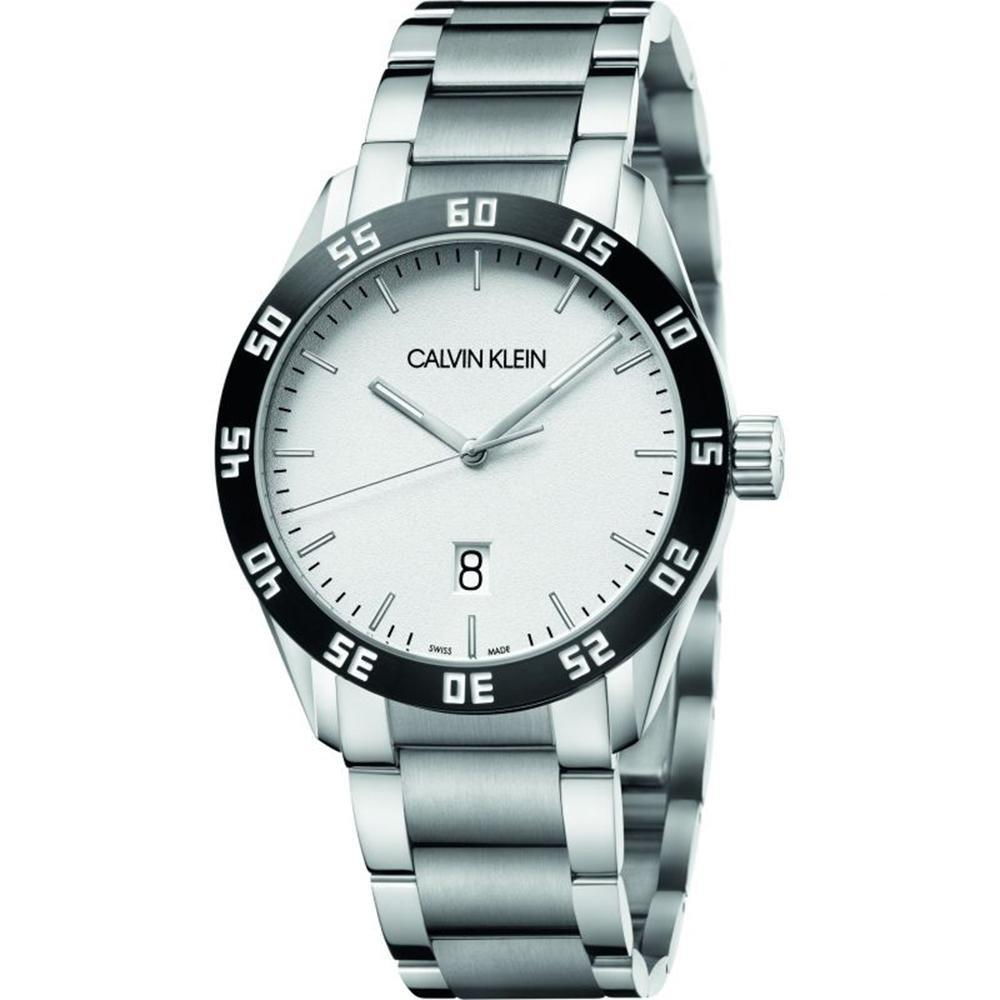 Calvin Klein Complete Silver Stainless Steel