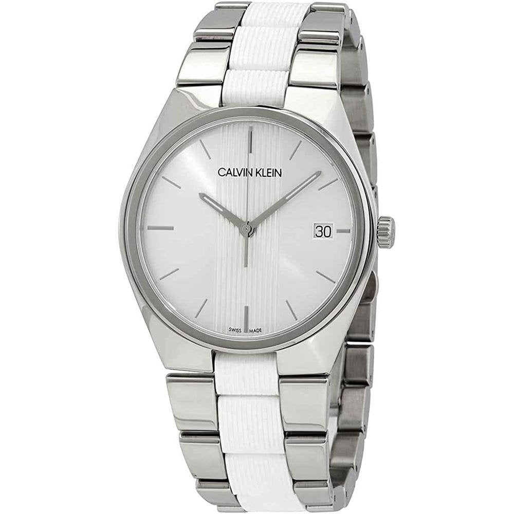 Calvin Klein Contrast Silver - Watches & Crystals