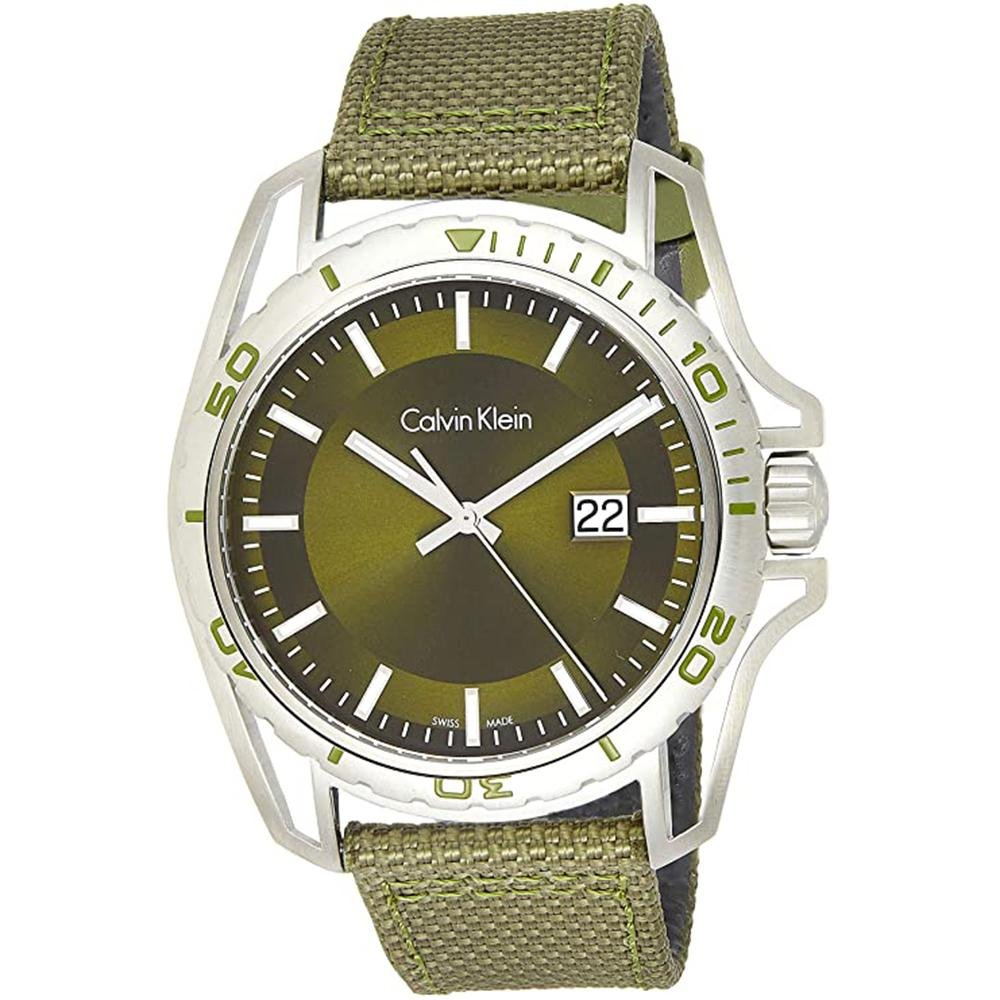 Calvin Klein Earth Green - Watches & Crystals