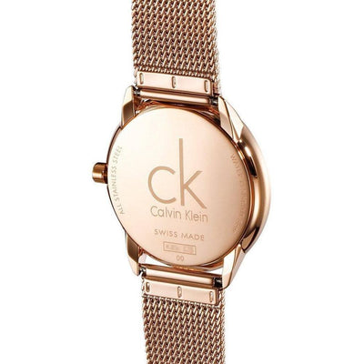 Calvin Klein Minimal Rose Gold - Watches & Crystals