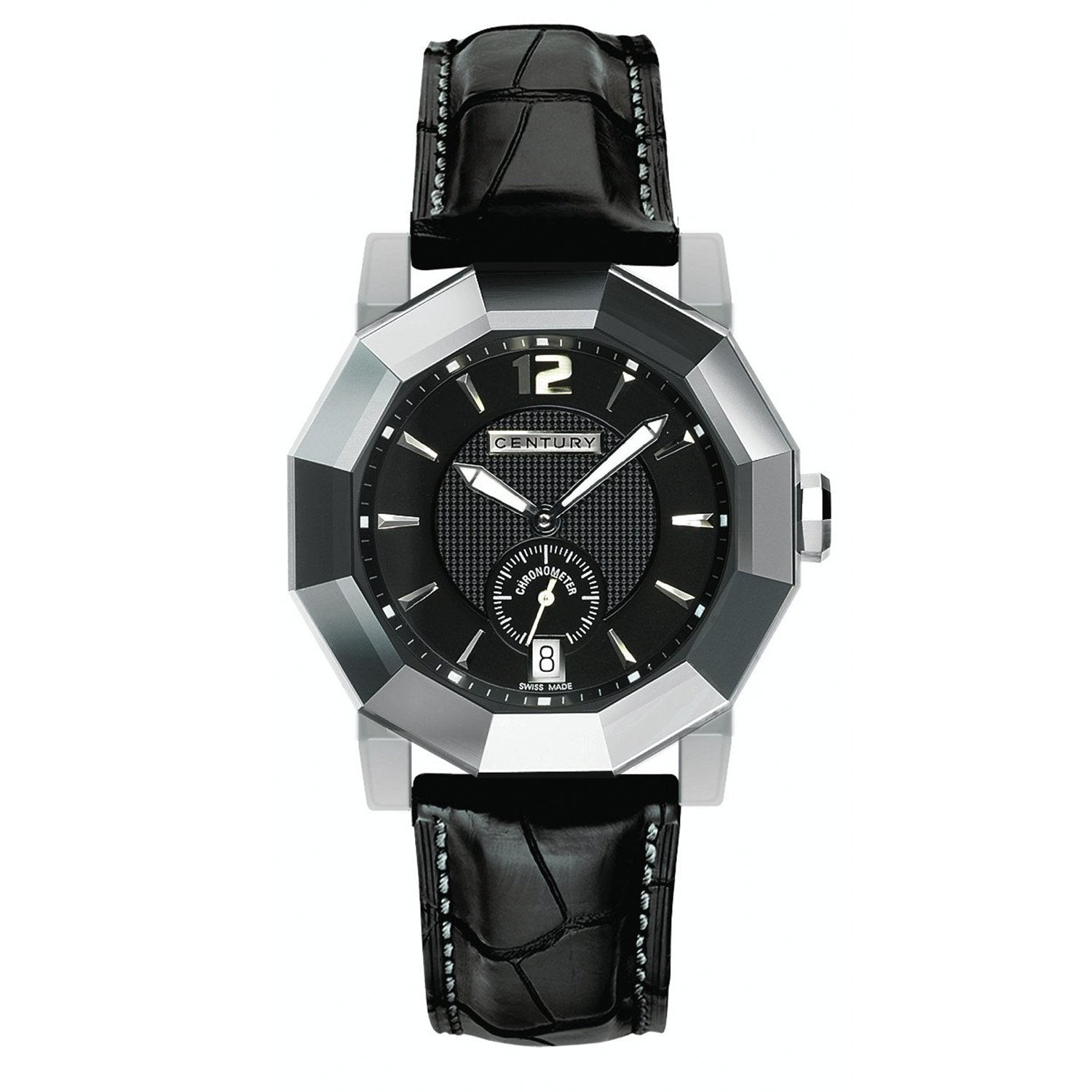 Century Sapphire Prime Time Ego COSC Chronometre Black - Watches & Crystals