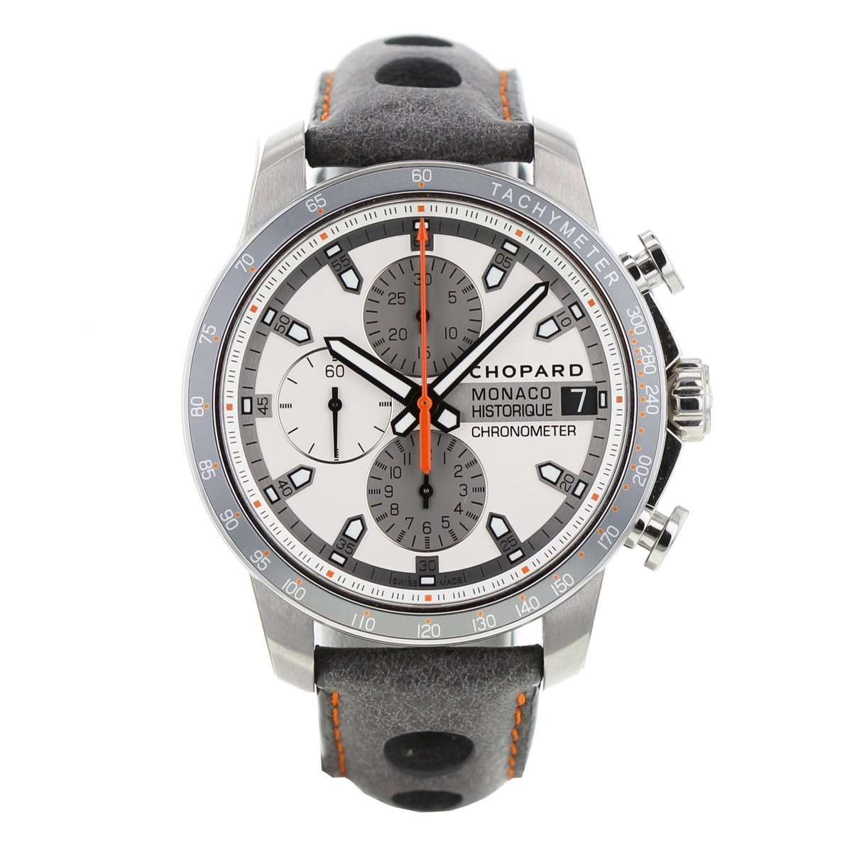 Chopard Grand Prix Monaco Historique Chronograph Men's Watch Grey - Watches & Crystals