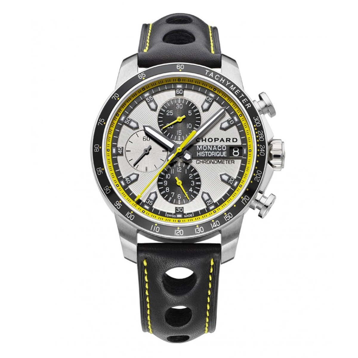 Chopard Grand Prix Monaco Historique Chronograph Men's Watch Leather - Watches & Crystals