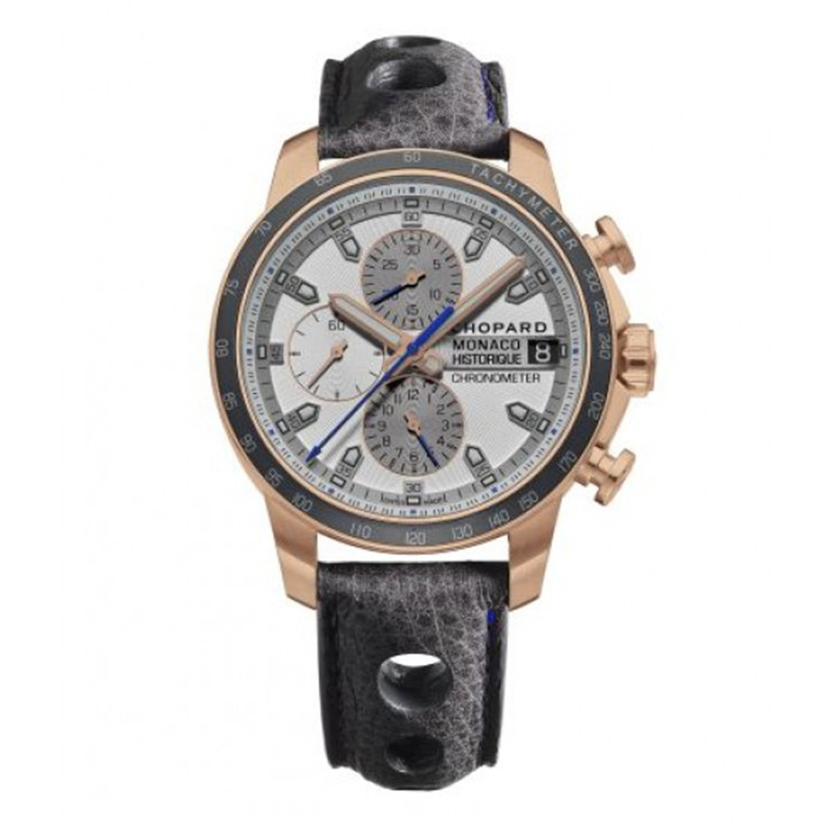 Chopard Grand Prix Monaco Historique Chronograph Men's Watch Rose Gold - Watches & Crystals