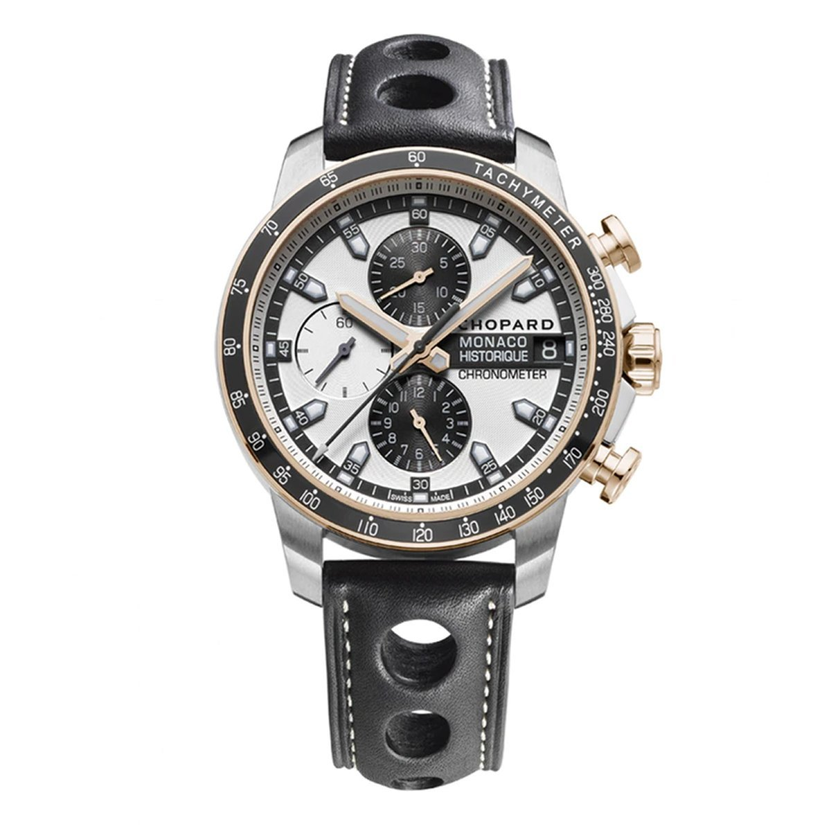 Chopard Grand Prix Monaco Historique Chronograph Men's Watch Titanium - Watches & Crystals