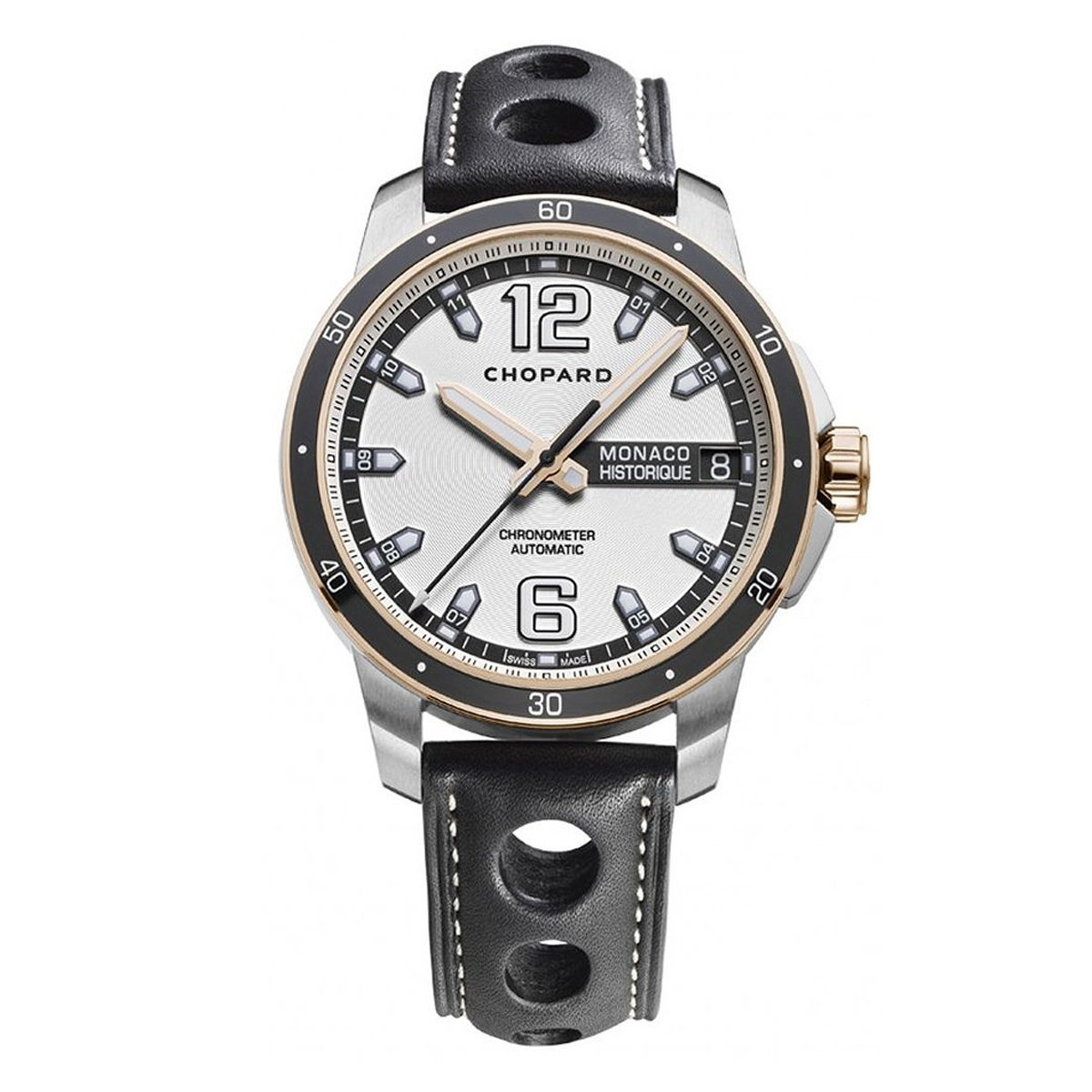 Chopard Grand Prix Monaco Historique Men's Watch Rose Gold - Watches & Crystals
