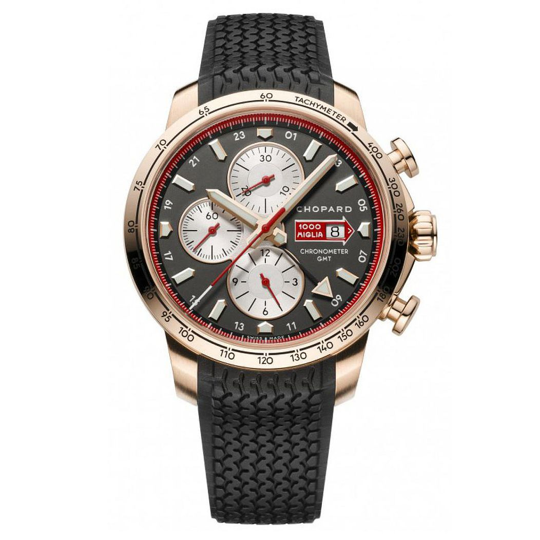 Chopard Mille Miglia 2013 Chronograph Men's Watch Rose Gold - Watches & Crystals