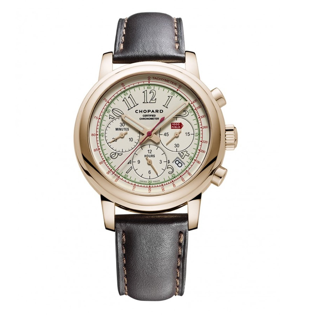 Chopard Mille Miglia Race Edition Chronograph Men's Watch Rose Gold - Watches & Crystals