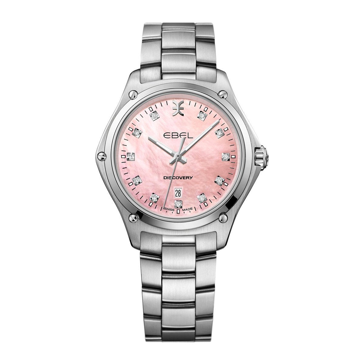 Ebel Discovery Steel Diamond Pink - Watches & Crystals