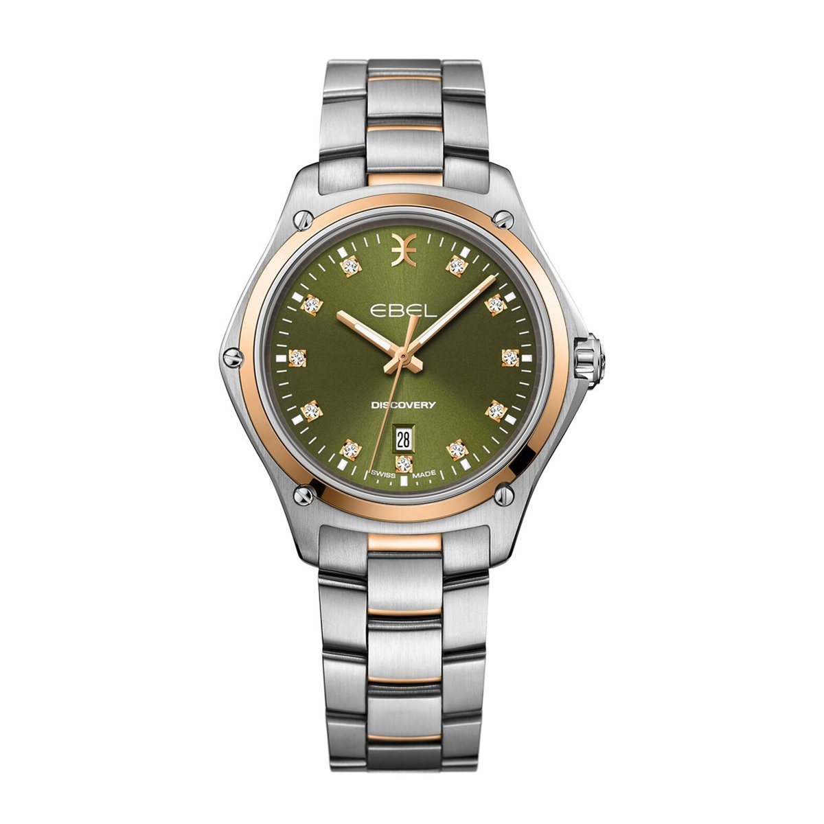 Ebel Discovery Steel Green Diamond - Watches & Crystals