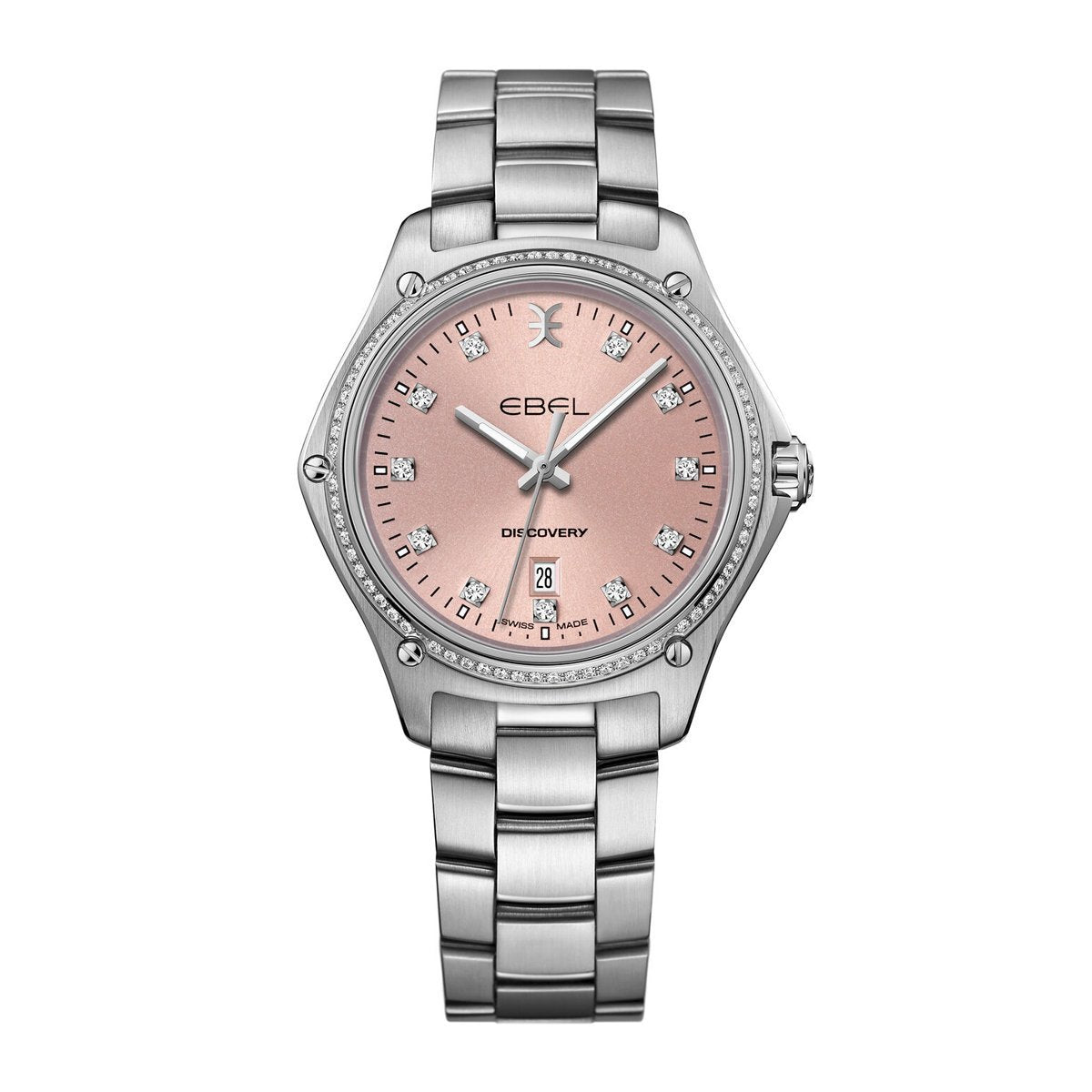Ebel Discovery Steel Pink Diamond - Watches & Crystals