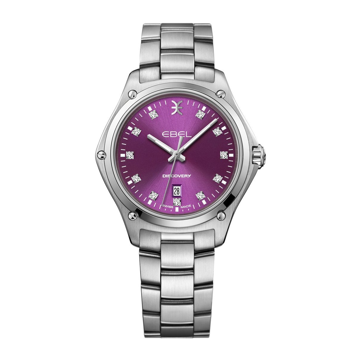 Ebel Discovery Steel Purple Diamond - Watches & Crystals