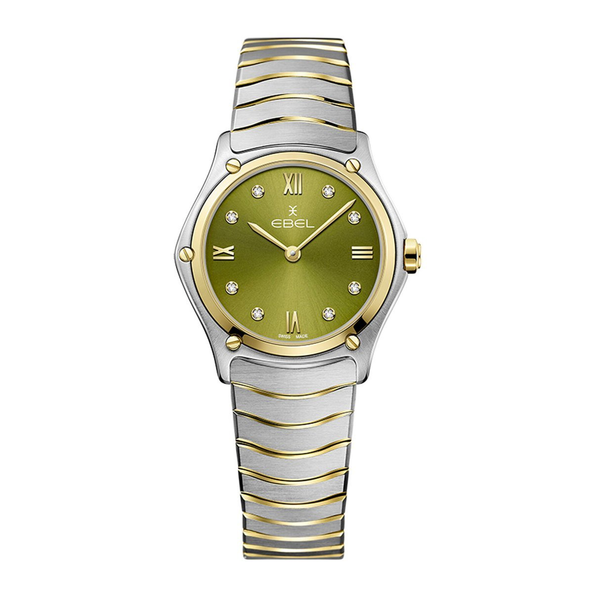 Ebel Sports Classic Green Diamond - Watches & Crystals