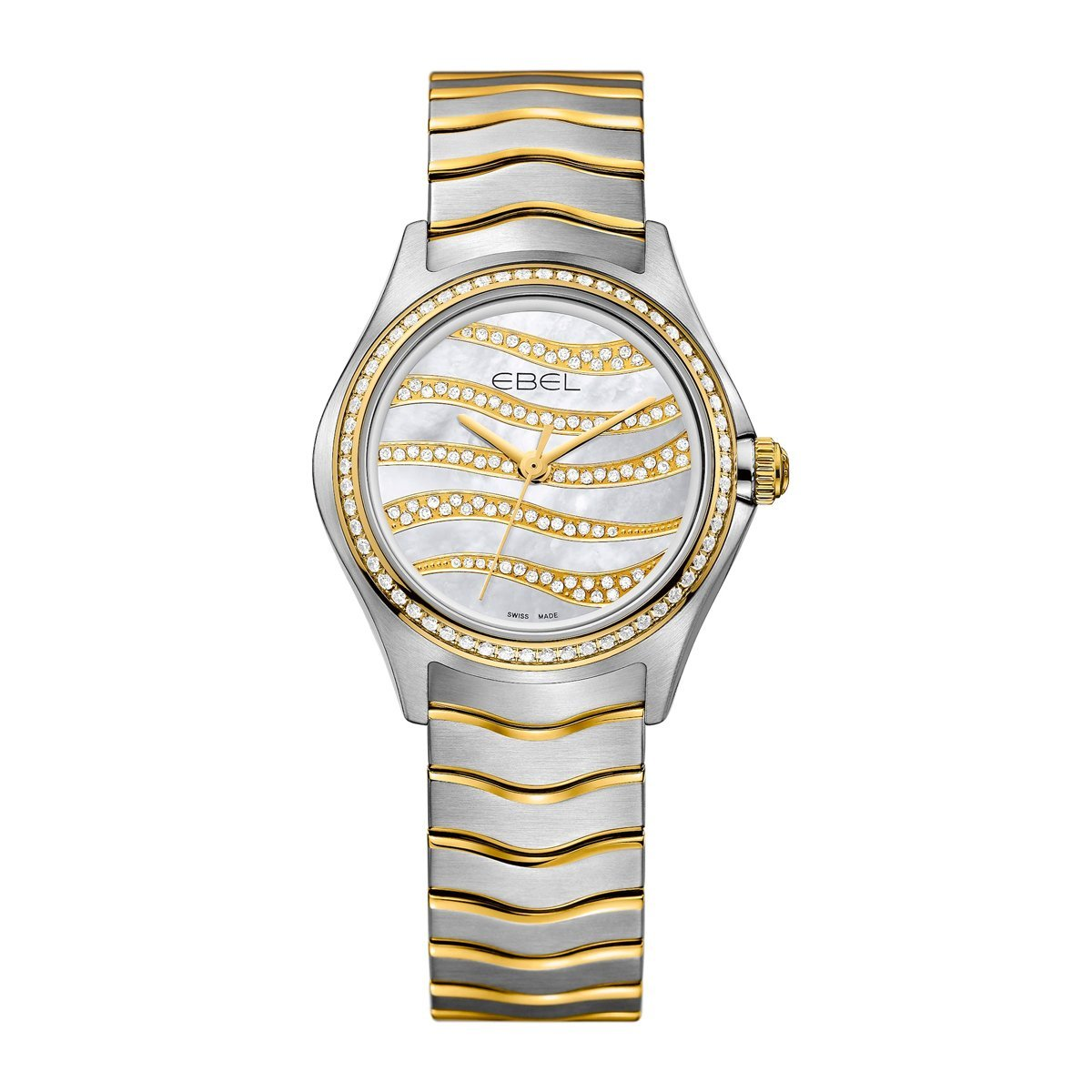 Ebel Wave Diamond Mother of Pearl - Watches & Crystals