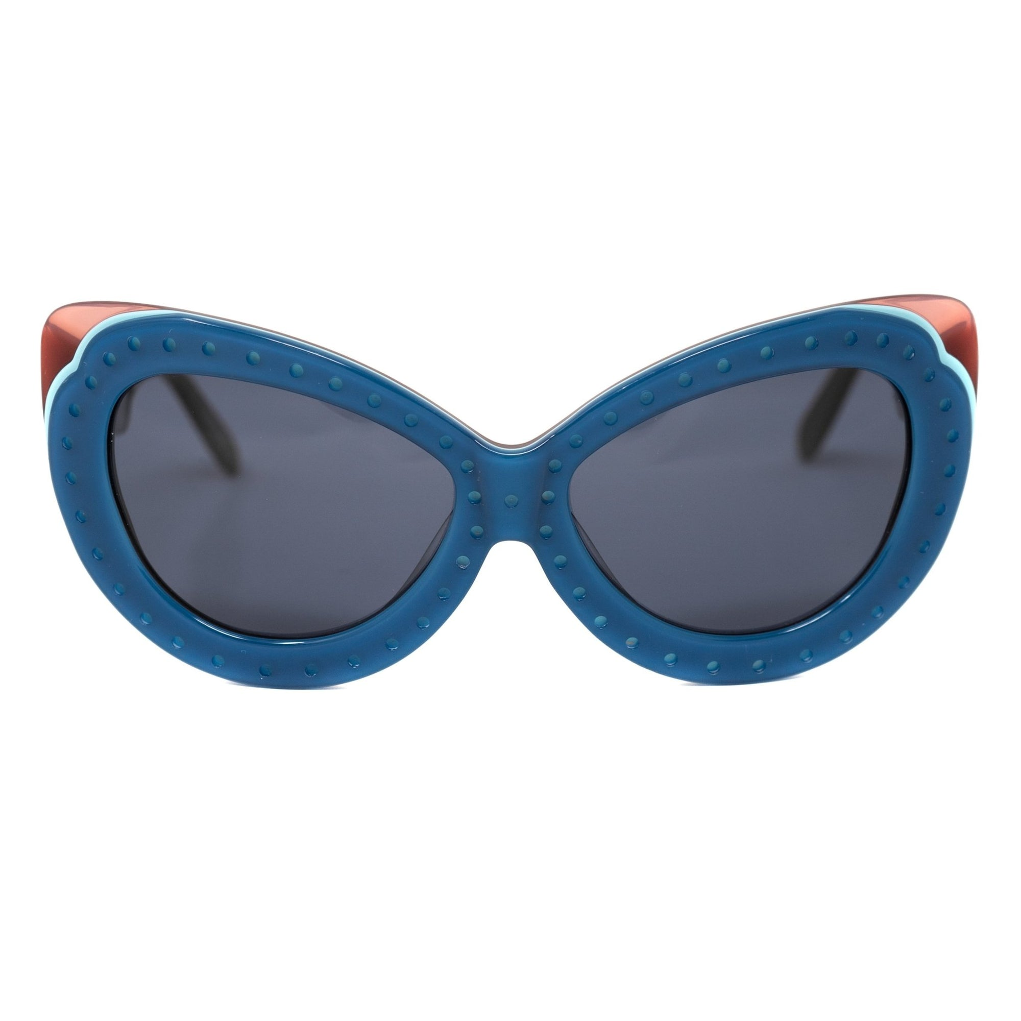 Eley Kishimoto Sunglasses Cat Eye Blue With Grey Category 3 Lenses 6EK10C4BLUE - Watches & Crystals