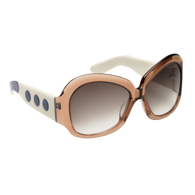 Eley Kishimoto Sunglasses Jackie-O Champagne With Brown Graduated Lenses 8EK21C1CHAMPAGNE - Watches & Crystals