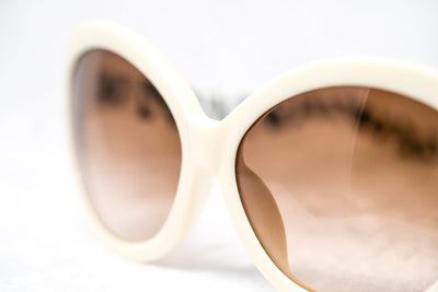 Eley Kishimoto Sunglasses Jackie-O Cream With Brown Graduated Lenses 8EK18C2CREAM - Watches & Crystals