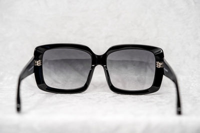 Eley Kishimoto Sunglasses Oversized Rectangular Black With Grey Category 3 Graduated Lenses EK28C2SUN - Watches & Crystals