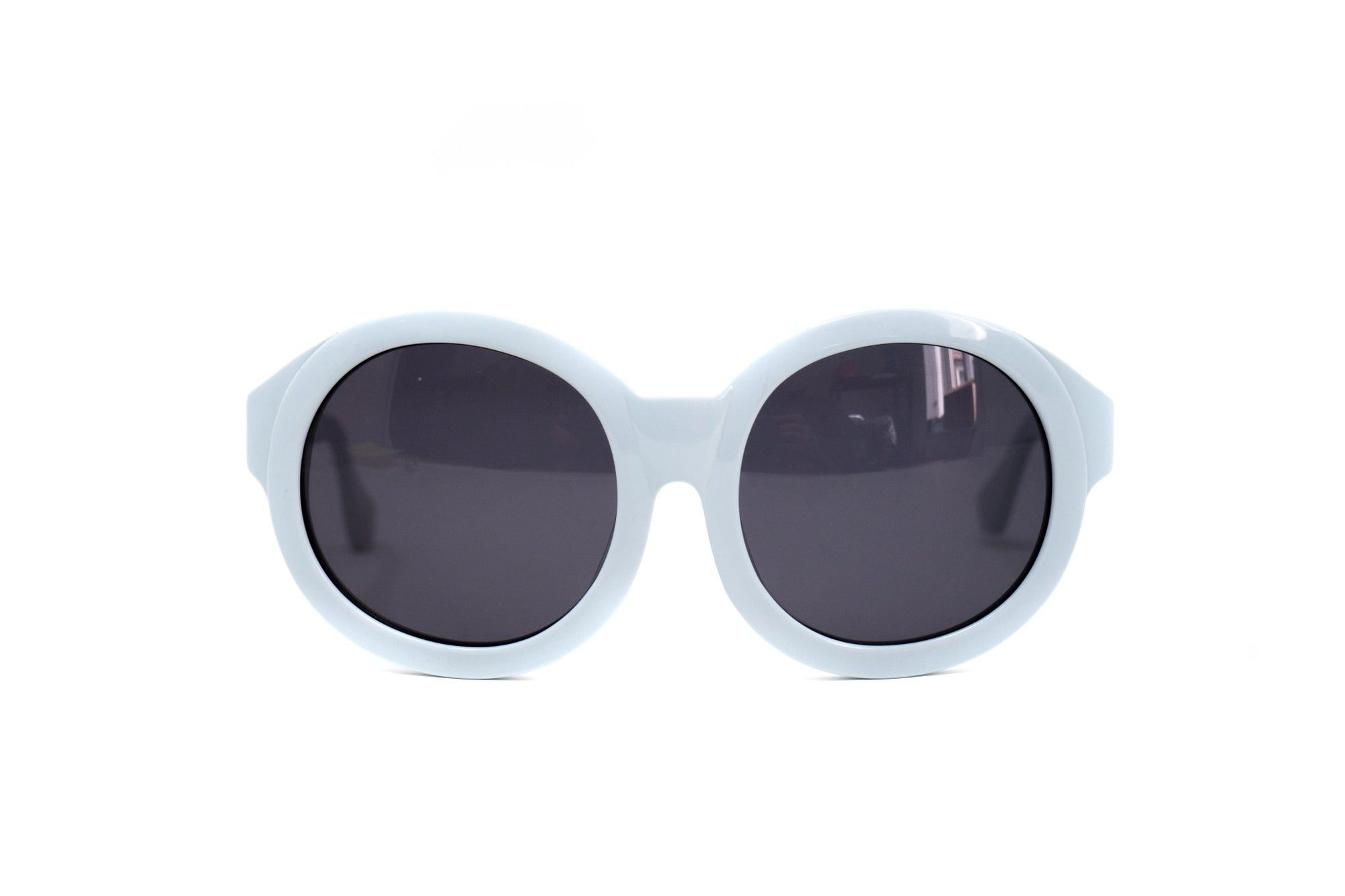 Eley Kishimoto Sunglasses Oversized Round Baby Blue With Grey Category 3 Lenses EK27C3SUN - Watches & Crystals