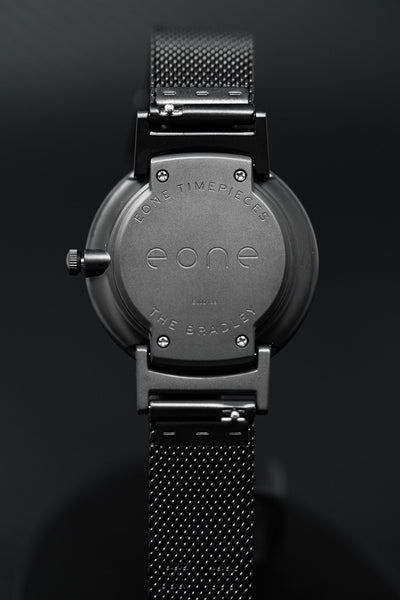 Eone Bradley 36mm Black Mesh - Watches & Crystals