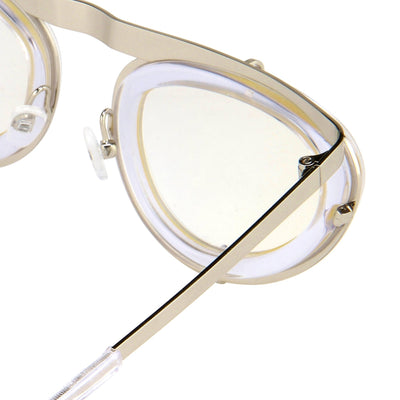 Erdem Women Sunglasses Cat Eye Clear Silver and Silver Lenses - EDM3C1SUN - Watches & Crystals