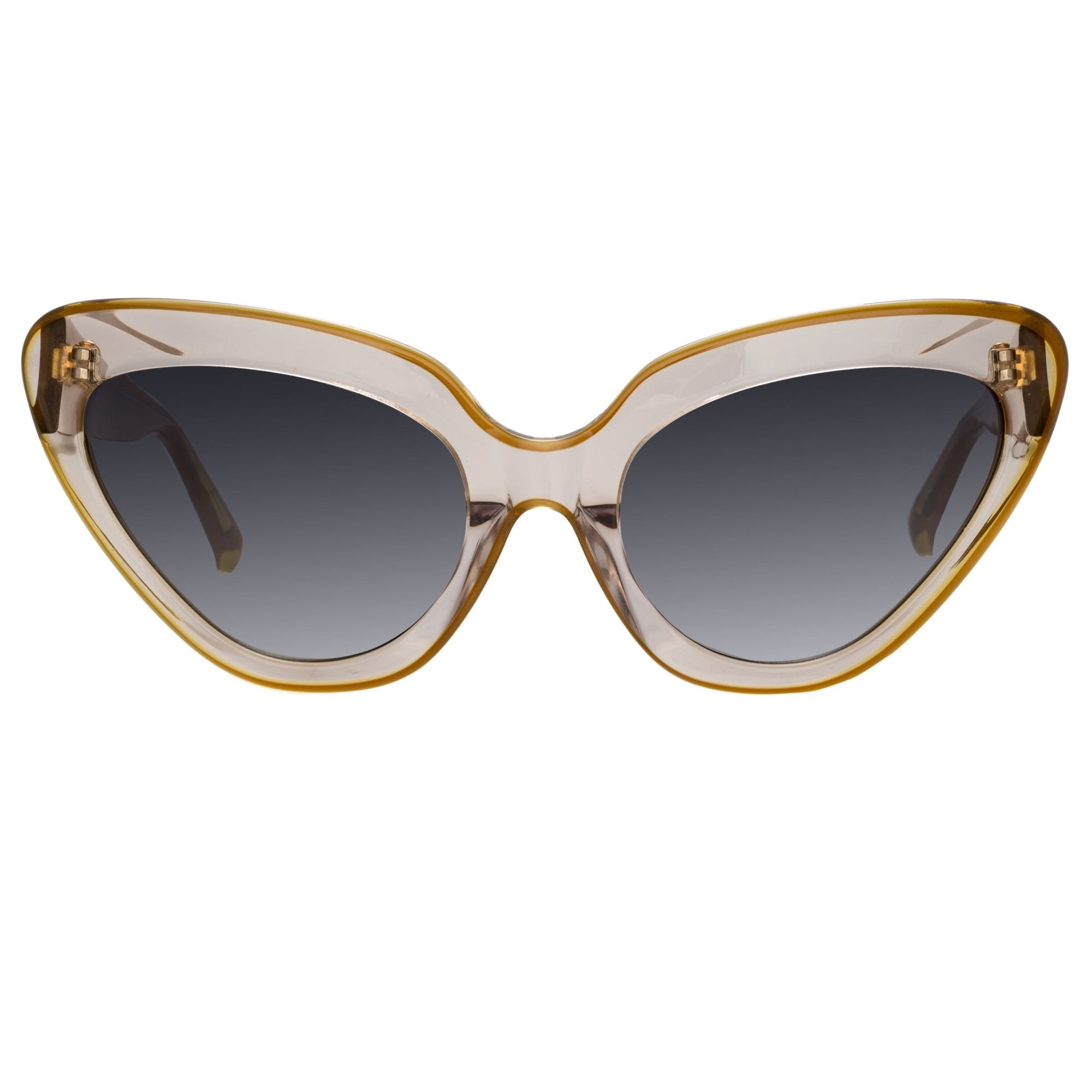 Erdem Women Sunglasses Cat Eye Marmalade with Grey Graduated Lenses EDM29C3SUN - Watches & Crystals