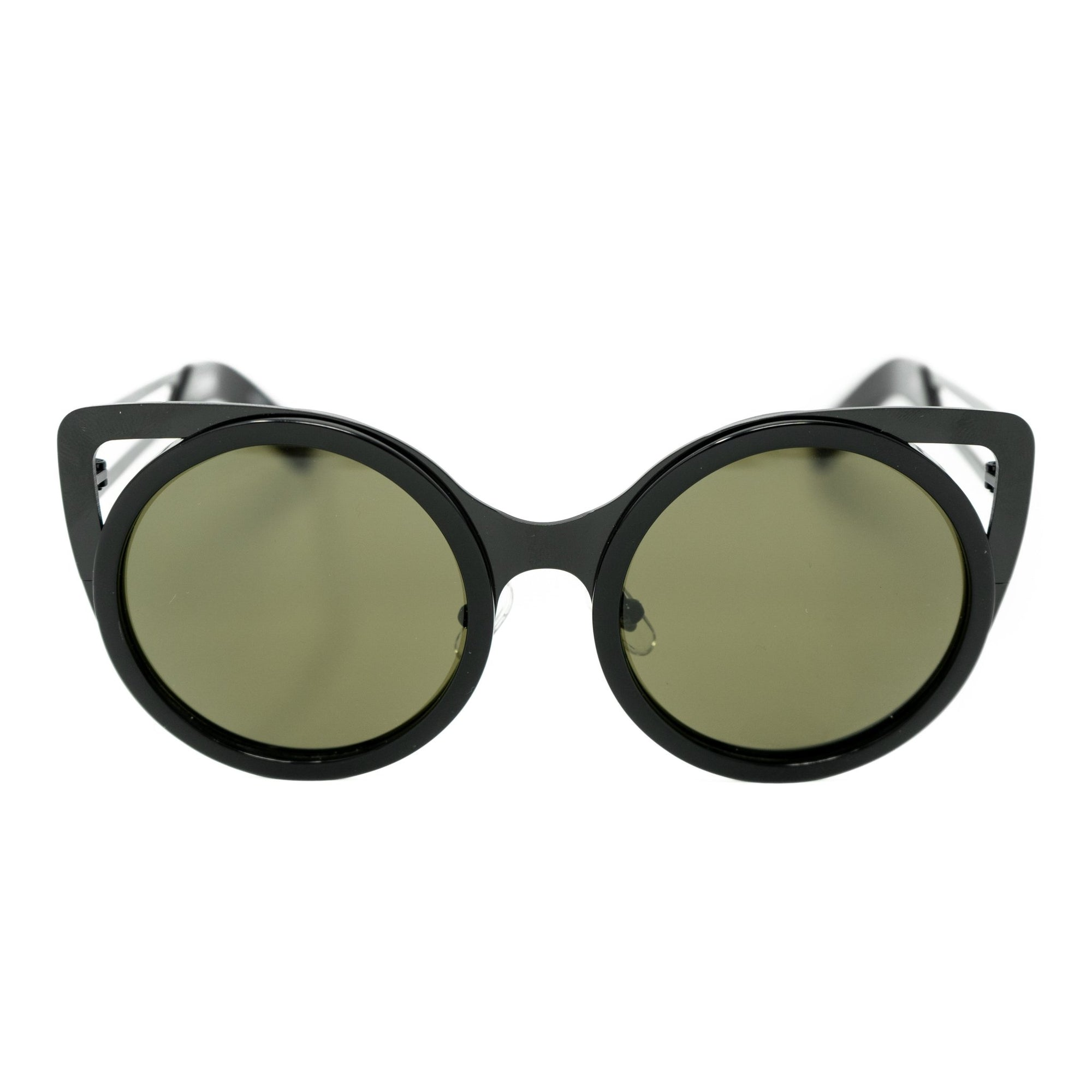 Erdem Women Sunglasses Cat Eye Slate Black with Grey Lenses Category 3 EDM4C9SUN - Watches & Crystals
